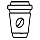 Biogradable Cups Icon